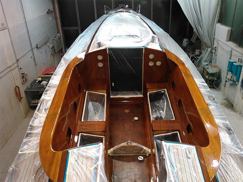 Cosa abbiamo fatto durante l inverno for Parti di una barca a vela